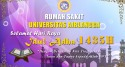 Rumah Sakit Universitas Airlangga Turut Merayakan Idul Adha 1435H Dengan Berqurban
