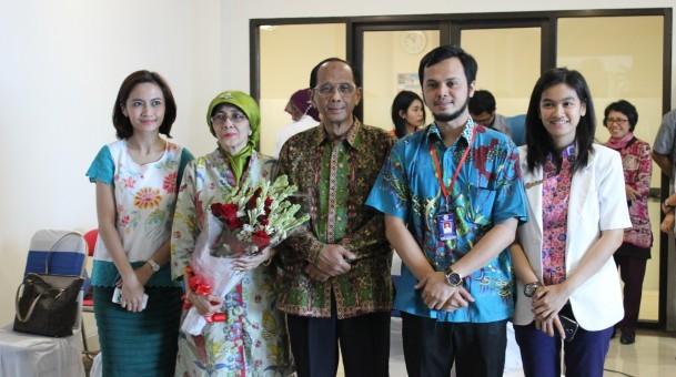 Perayaan Ulang Tahun Direktur Utama Rumah Sakit Universitas Airlangga