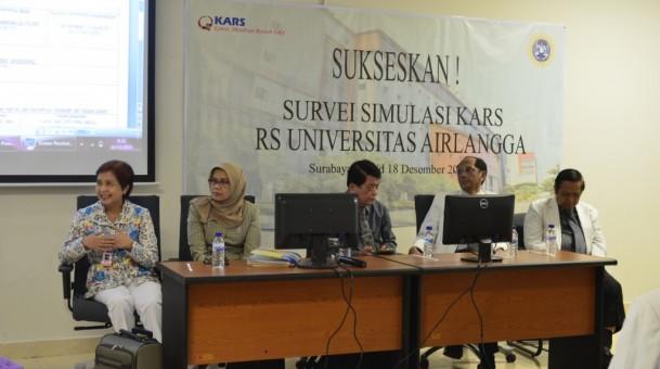 Survei Simulasi KARS di Rumah Sakit Universitas Airlangga