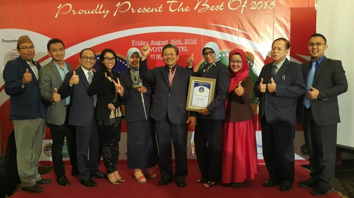 THE MOST TRUSTED HOSPITAL AND QUALITY SERVICE OF THE YEAR 2016
