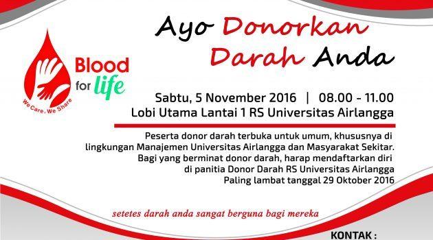 Donor Darah Universitas Airlangga
