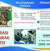 Operasi Katarak Gratis Rumah Sakit Universitas Airlangga