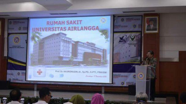 Visitasi Rumah Sakit Universitas Airlangga Sebagai Rumah Sakit Pendidikan