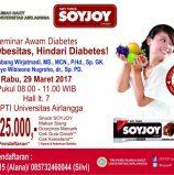 Seminar Awam Diabetes