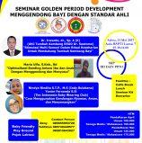 SEMINAR GOLDEN PERIOD DEVELOPMENT
