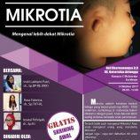 Mengenal lebih dekat kelainan kongenital MIKROTIA