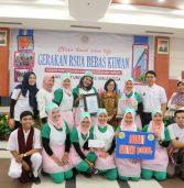 Kemeriahan kreasi Cuci tangan menuju RS UNAIR bebas Kuman oleh Komite PPI