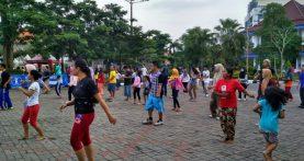 Kegiatan Senam Sehat, Konsultasi Gizi Gratis dalam rangka memperingati Hari Gizi Nasional 2018