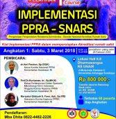 One Day Seminar IMPLEMENTASI PPRA-SNARS 3 Maret 2018