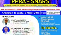 One Day Seminar IMPLEMENTASI PPRA-SNARS 3 Maret 2018