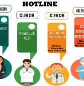 HOTLINE layanan RS UNAIR