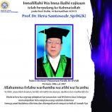 Berpulang ke Rahmatullah Prof.Dr. Heru Santoso,dr.,Sp.OG(K) wakil direktur RS UNAIR 2016-2017