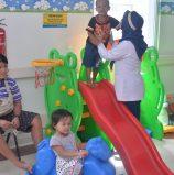 Terapi bermain pasien anak RS UNAIR di Hari Anak Nasional 2018