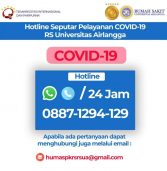 HOTLINE COVID-19 RS UNIVERSITAS AIRLANGGA